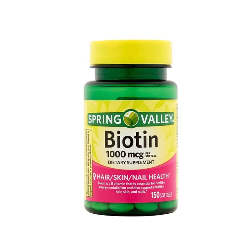 biotina Spring Valley 1000 mcg 1