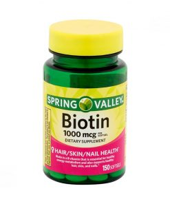 biotina Spring Valley 1000 mcg 4